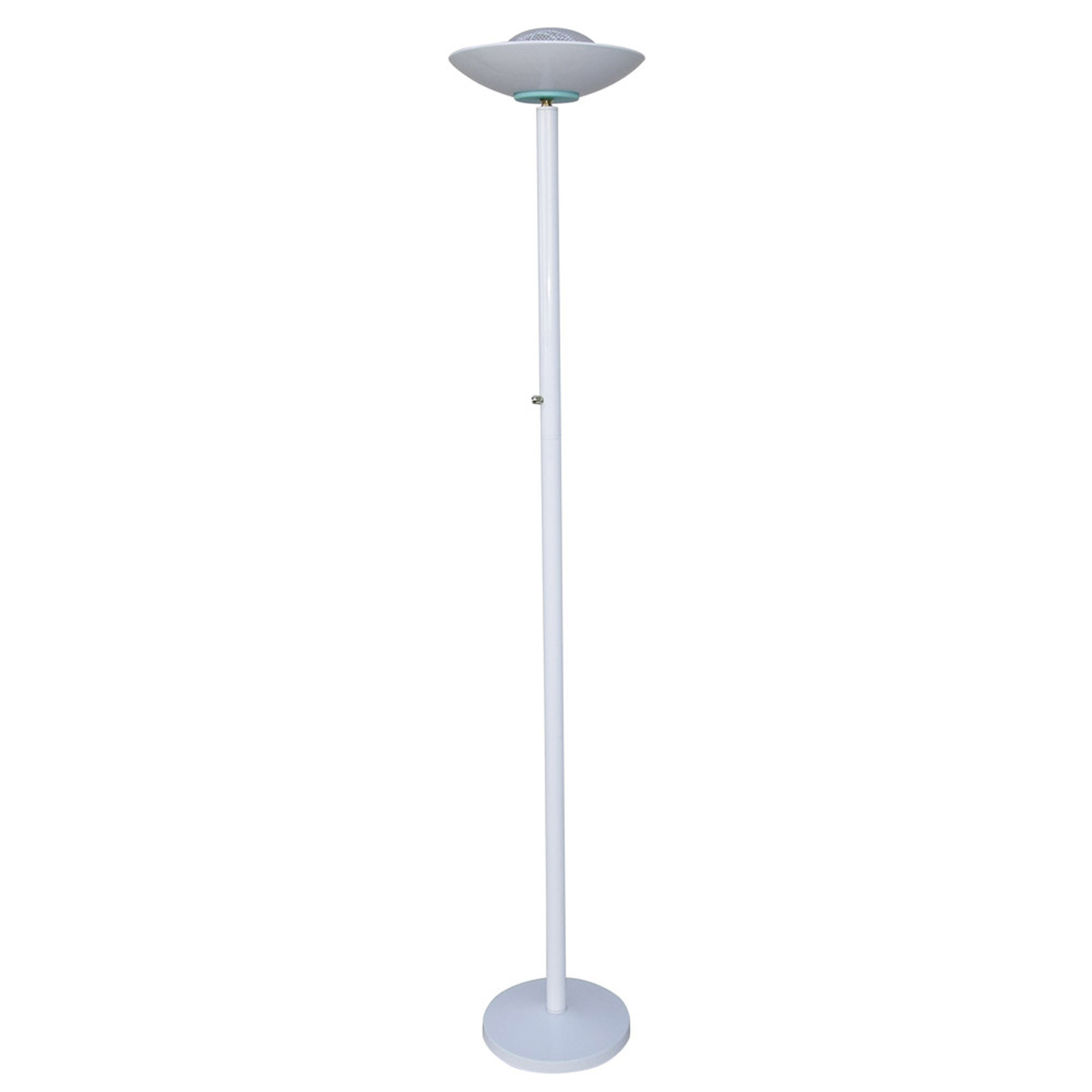 69 5 Quot Tall Metal Halogen Torchiere Floor Lamp With Finish
