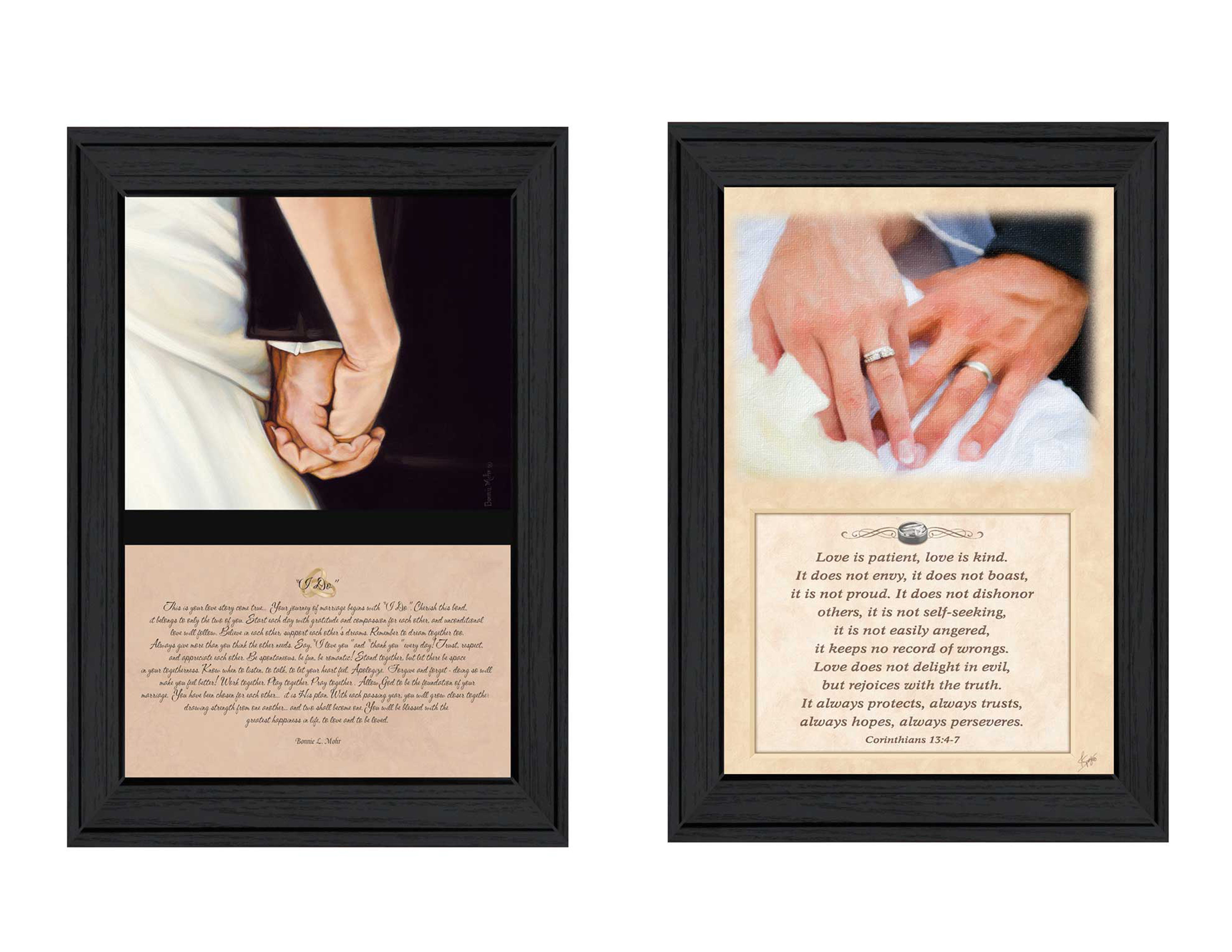 Marriage  by Bonnie Mohr & Justin Spivey Printed Framed Wall Art